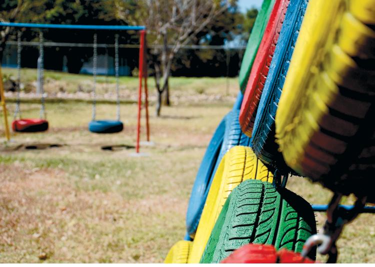 Gira Y Da Vueltas La Idea De Crear Areas De Juegos Para Ninos Con
