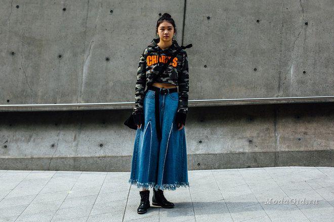 Уличная мода: Уличный стиль недели моды в Сеуле осень-зима 2017-2018