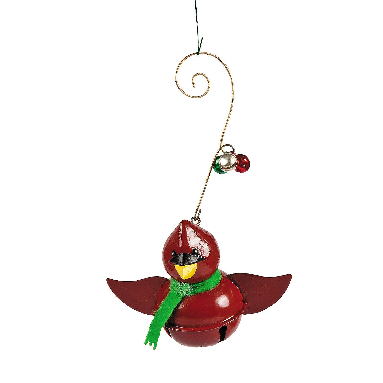 Jingle Bell Cardinal Ornaments - OrientalTrading.com | Christmas ornaments, Ornaments, Jingle bells