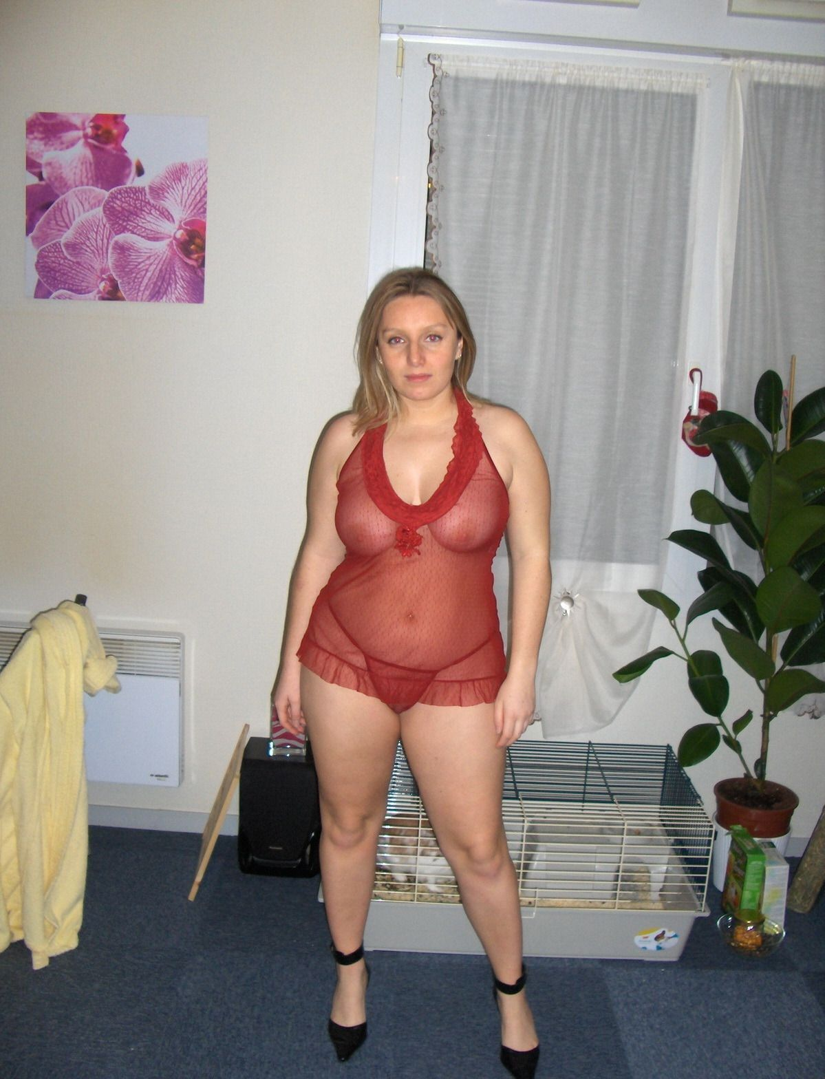 Chubby amateur wife