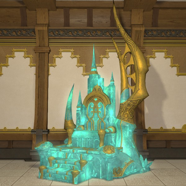Emperor S Throne Ffxiv Housing Chair Bed Chair Bed Throne Emperor