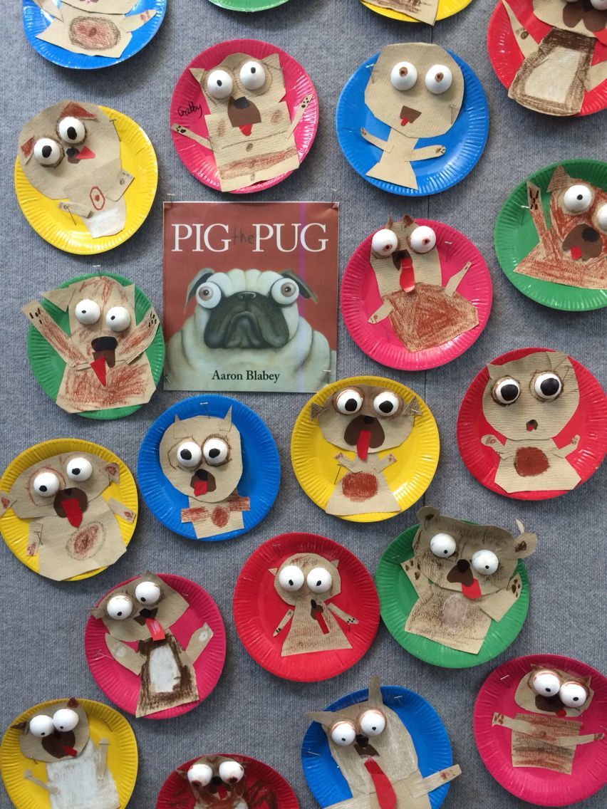 Pig The Pug Book Week Kindergarten Art Picture Book