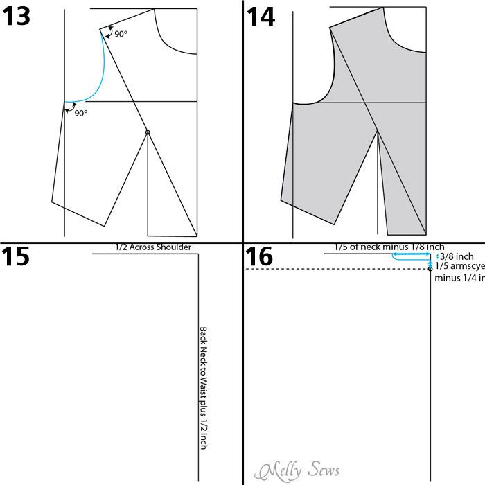 How to Make a Bodice Pattern | Bodice, Patterns and Pattern drafting