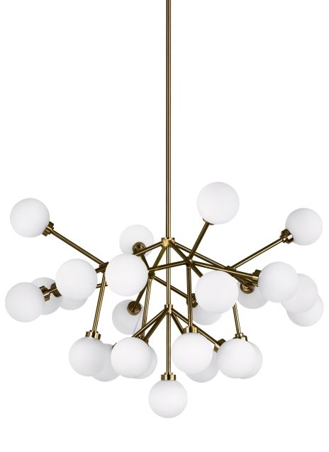 The Mara Led Chandelier From Tech Lighting Is A Wholly Modern