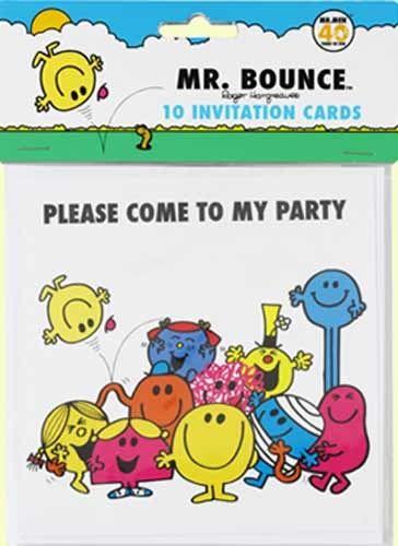 Mr Men Party Invitations Mr Men Party Mr Men Mens Birthday Party