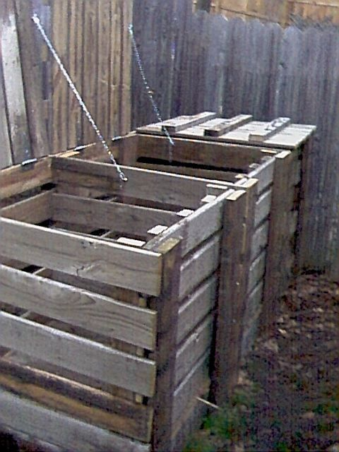 Compost Bin Plans. UPDATE: I Made This. It Is Awesome