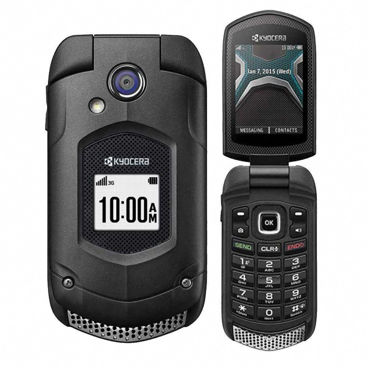 Kyocera Duraxa E4510 Black Us Cellular Only Rugged Waterproof Flip Phone Uscellularphones Phones For Sale Flip Phones Us Cellular