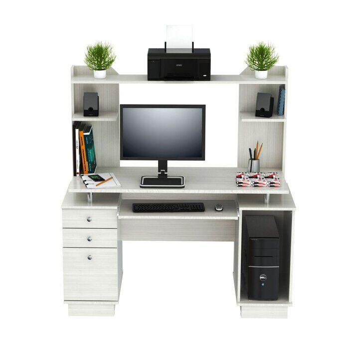 Santoro Computer Desk with Hutch