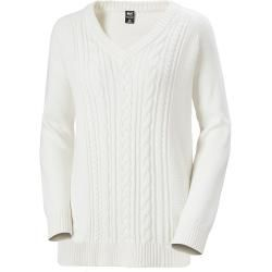 Helly Hansen Woherr Fjord Cable Knit White Xs