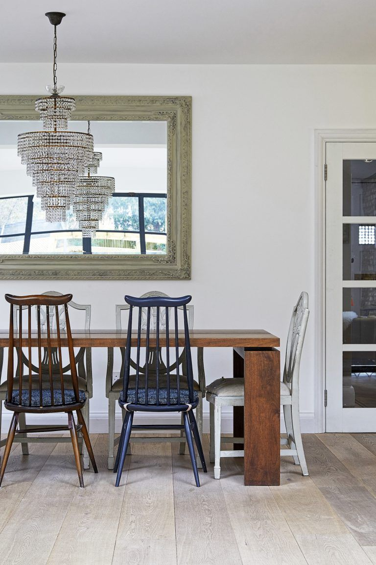 We Love This Shot   The Chairs, Wooden Table, Chandelier And Pale Wooden  Floor