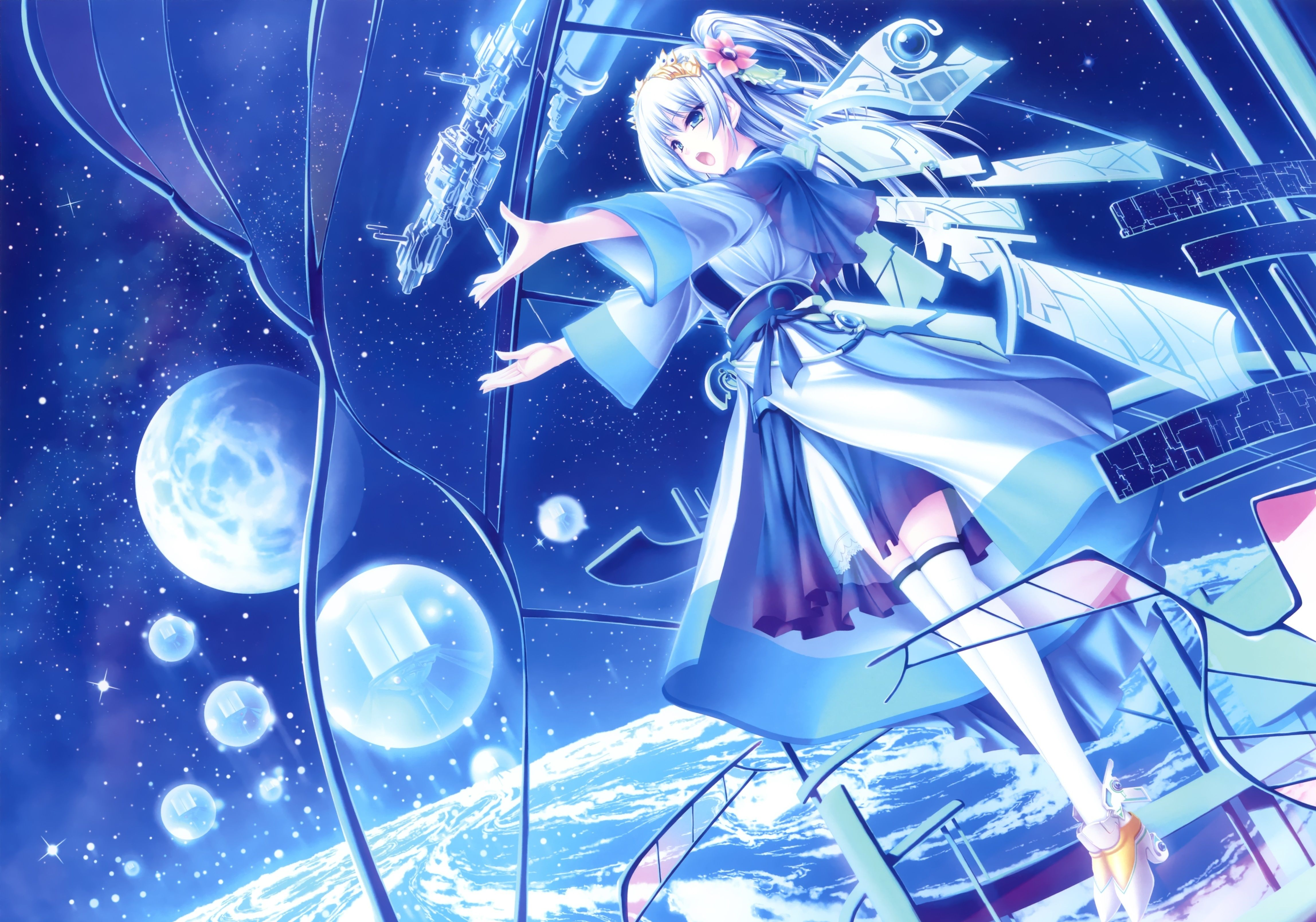 Here we see some beautiful anime wallpapers made by