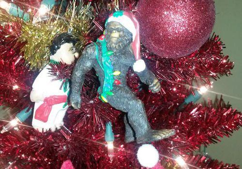bigfoot christmas ornament - Bigfoot Christmas Ornament