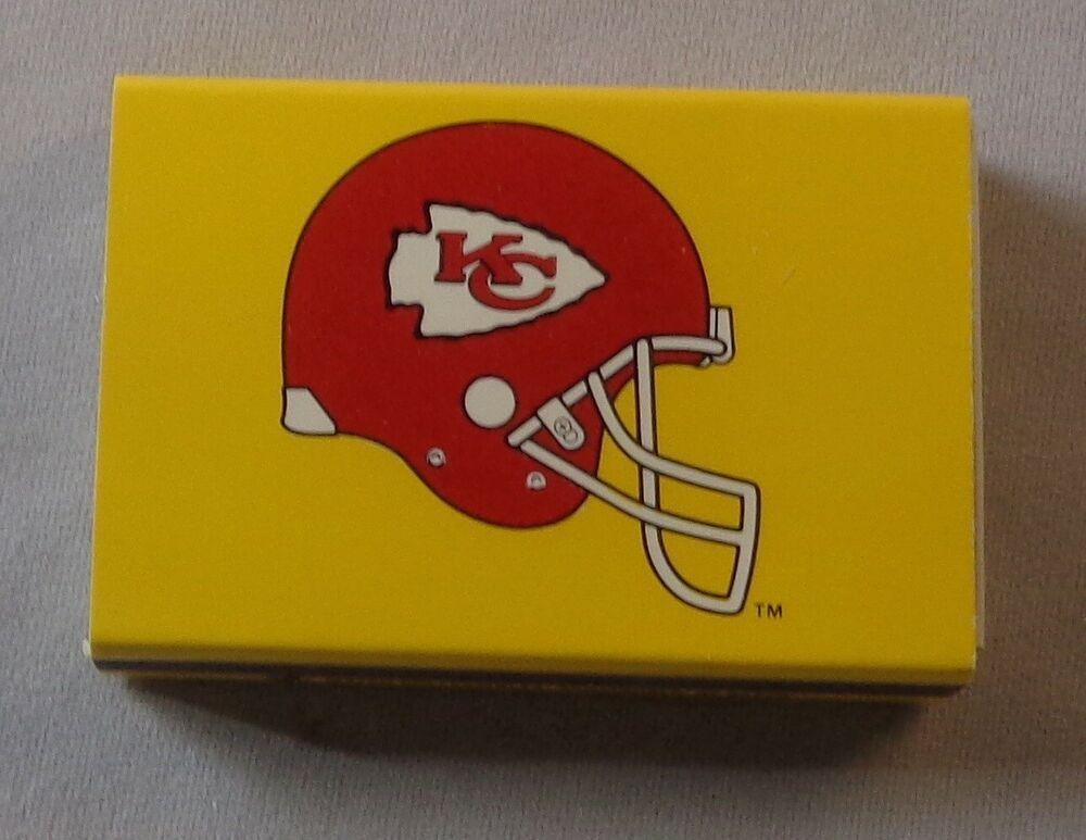 foto de NFL Football Kansas City Chiefs Matchbook Box Match Collectibles #KansasCityChiefs Valentine