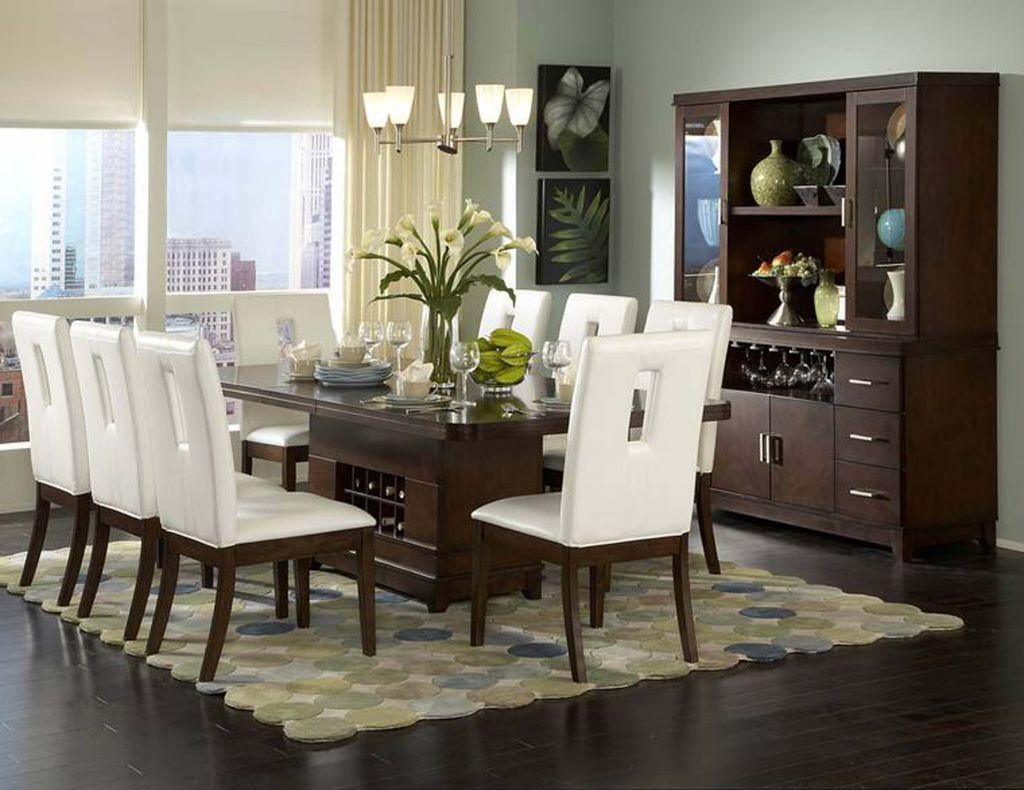 High Quality The Stylish Contemporary Design Of Elmhurst Dining Collection By  Homelegance Creates Perfect Enhancement To Any Dining Room Dcor. Home Design Ideas