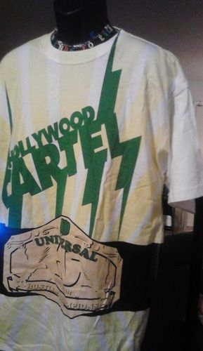 'HollyWood Champion Cartel T-shirt ' is going up for auction at  3pm Thu, Aug 29 with a starting bid of $1.