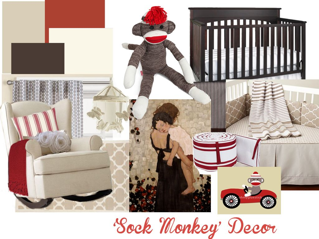 Sock Monkey Decor @Stephanie Ruby Feldman Like? Nothing ...