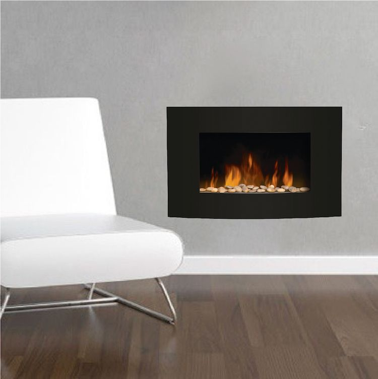 Fireplace Wall Decals Living Room Wall Decal Murals Romantic