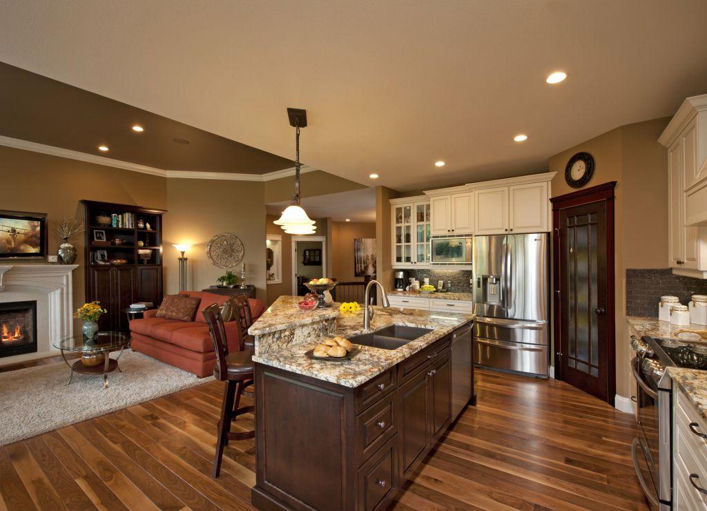 Open Concept Kitchen Family Room Design Ideas Best Of Open ...