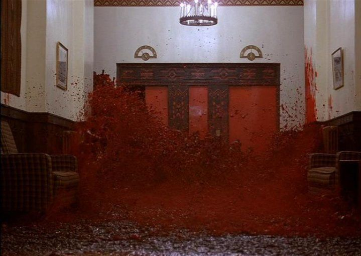 Blood Corridor the Shining
