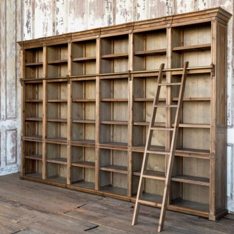 General Store Wall Unit Home Library Design Wall Unit Wall Storage Unit