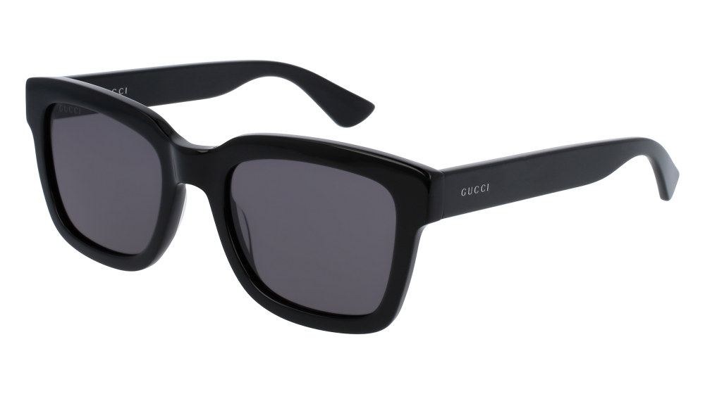 68574390e14f Gucci - GG0001S-001 Black Sunglasses   Smoke Lenses in 2019