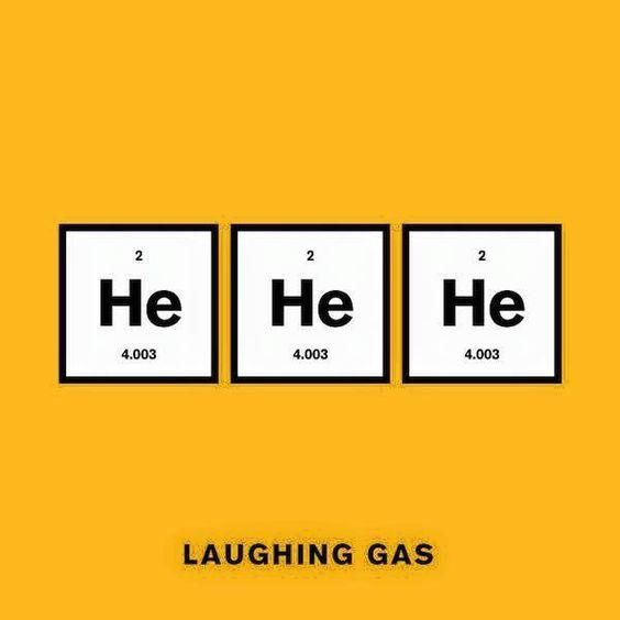 laughing gas science pun periodic table science meme sciencehumor sciencememes teacher - Periodic Table Symbol Puns