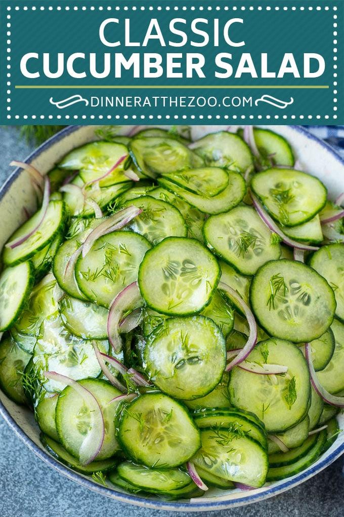 Cucumber Salad Recipe Gluten Free