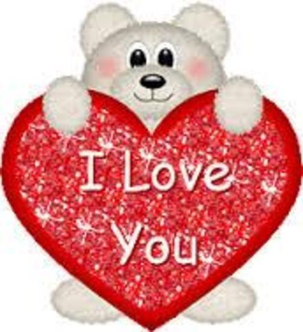Открытка, картинка, 14 февраля, сердце, поздравление ...
