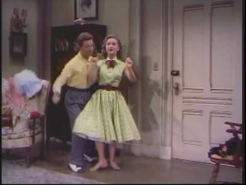 Donald O'Connor & Debbie Reynolds - Where Did You Learn to Dance? {I Love Melvin} #modcloth #styleicon