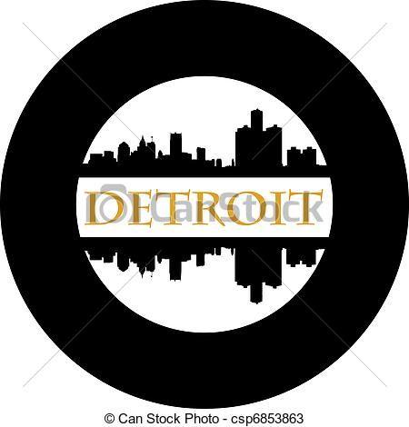 Vector - rueda,  Detroit...