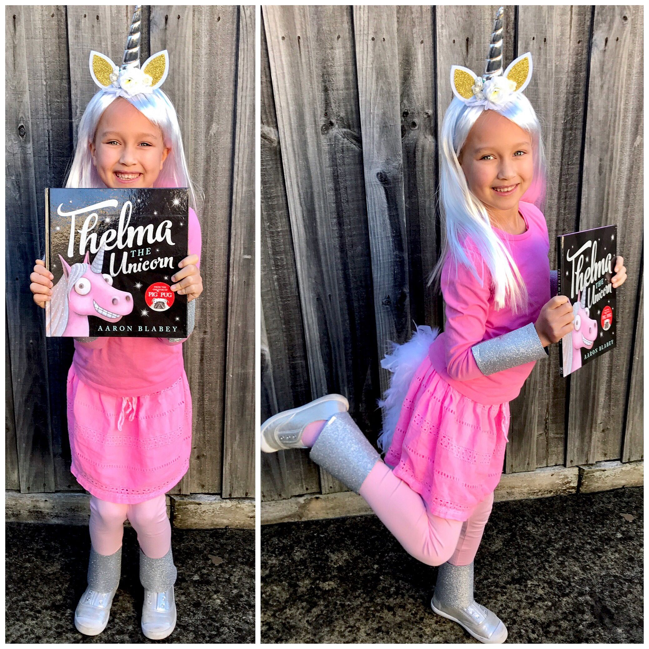 0cc1fda1 Thelma the Unicorn costume for Book week. ✨ | Dress up in 2019 ...