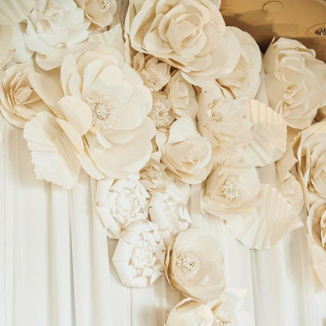 Paper flower backdrop parties and celebrations pinterest paper paper flower backdrop mightylinksfo