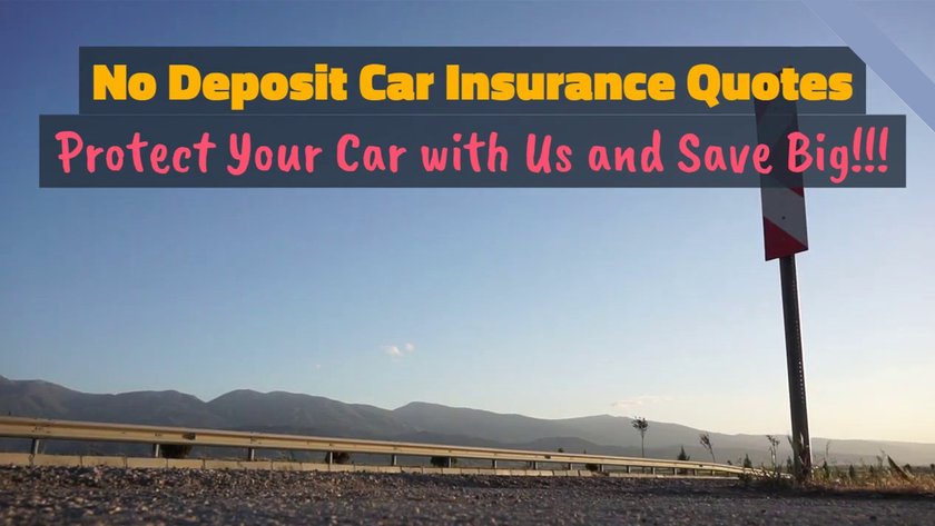 No Deposit Car Insurance Policy Is There Such A Thing Car