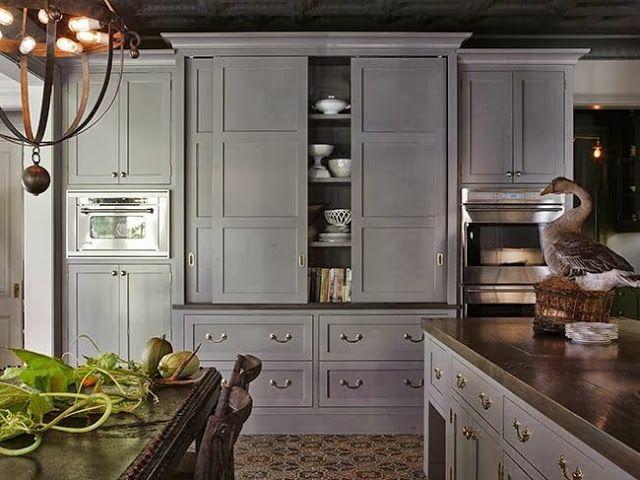 Sliding Cabinets In The Kitchen Kitchens Pinterest Kitchens