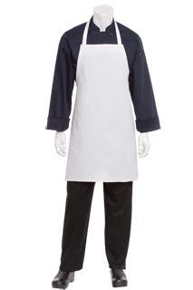 Uniform Works Tuxedo Apron Slate Uniform Clothing Kitchen Cafe Chef Polycotton