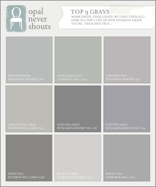 cool gray paint colorsGray paints London fog Ben Moore was sandwrling lifesaving
