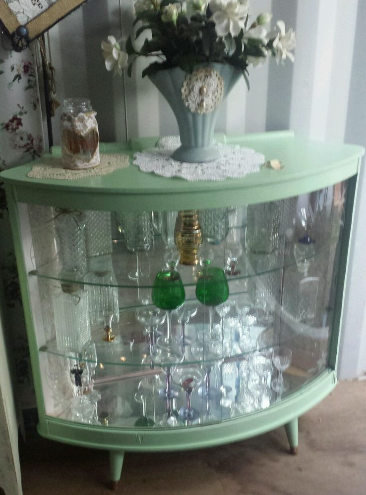 Vintage Display Cabinet in Home & Garden, Furniture, Sideboards, Buffets & Trolleys | eBay