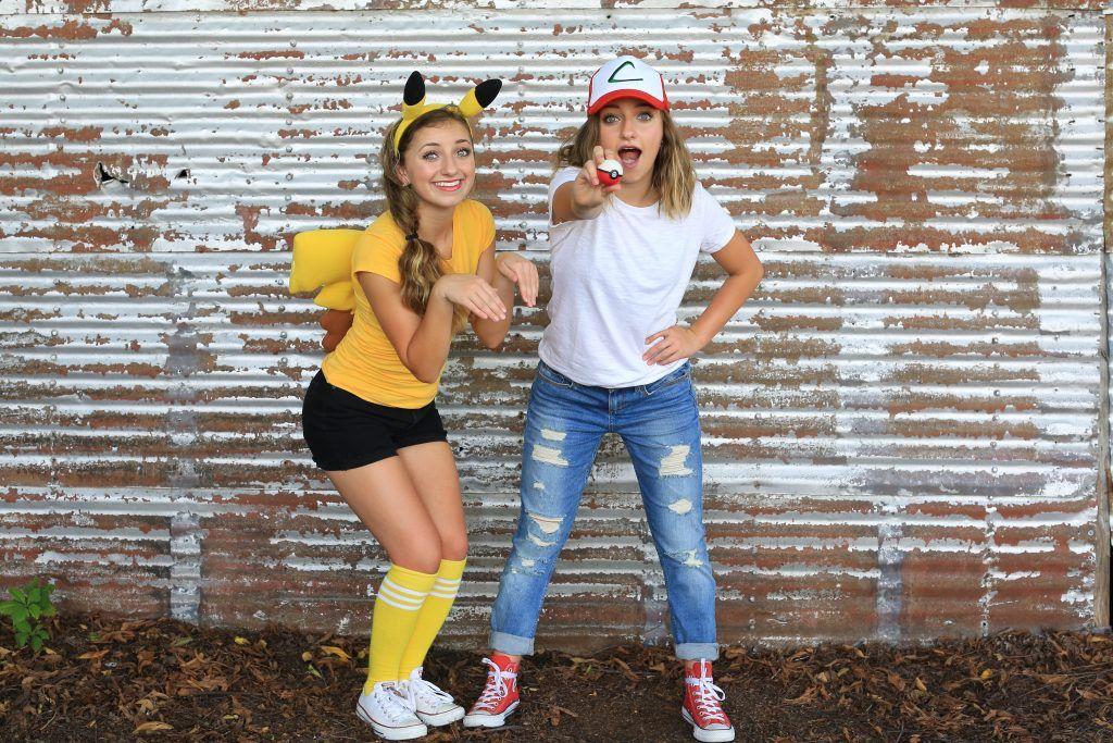 Pikachu & Ash Costume CGH Brooklyn & Bailey Bff