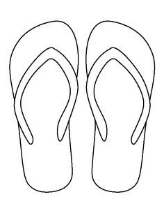 photo relating to Flip Flop Template Printable identify Pin upon Crafts/Basic