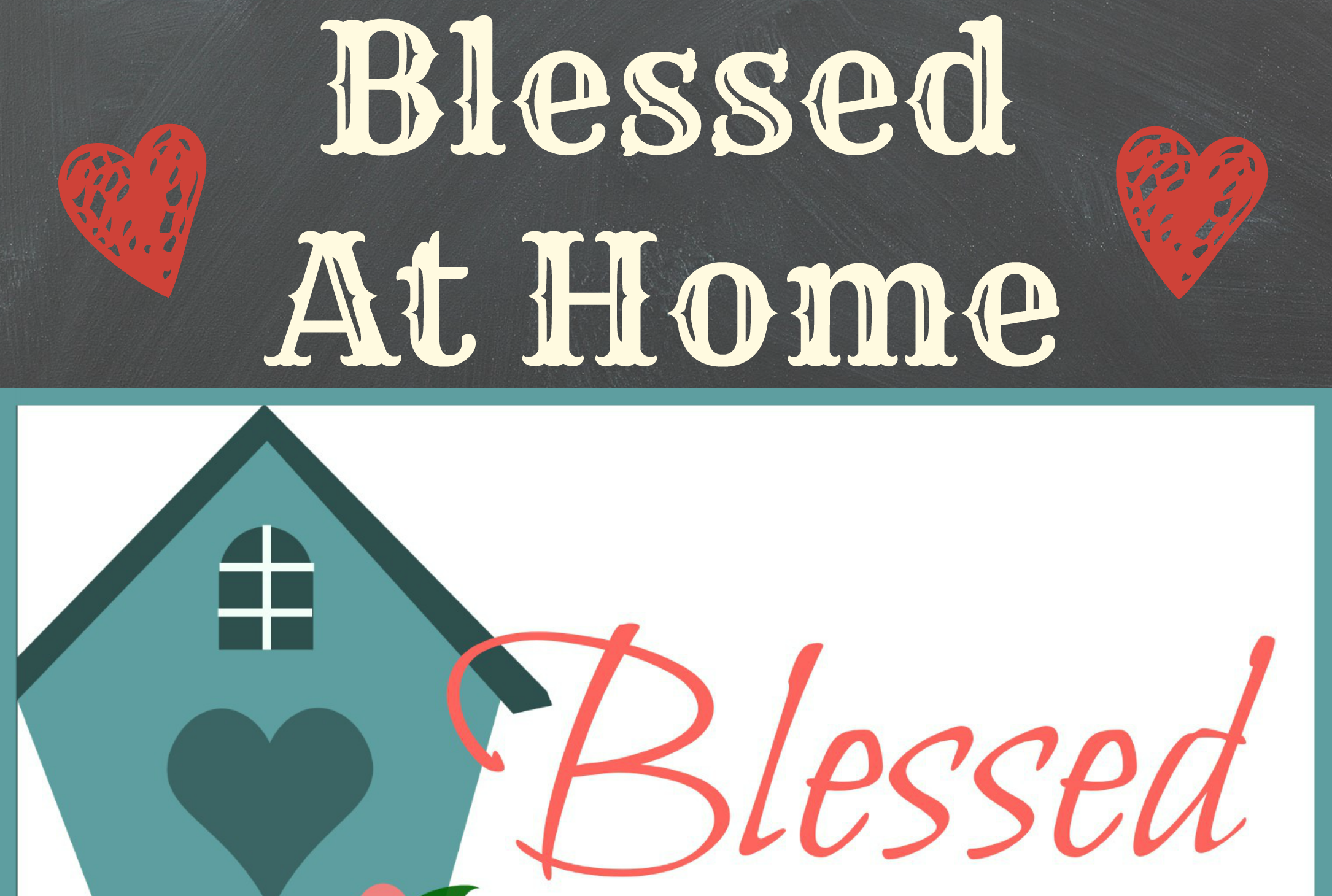 Blessed At Home featured each Thursday on WholeHearted Home with contributing authors from your favorite blogs.