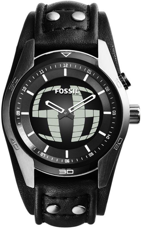 668bcb75dfaa Fossil Ana-Digi Coachman Reloj Para hombres JR1472