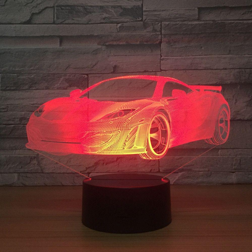 Boys Car Night Light