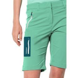 Jack Wolfskin Softshellshorts Frauen Overland Shorts Women 46 grün Jack Wolfskin