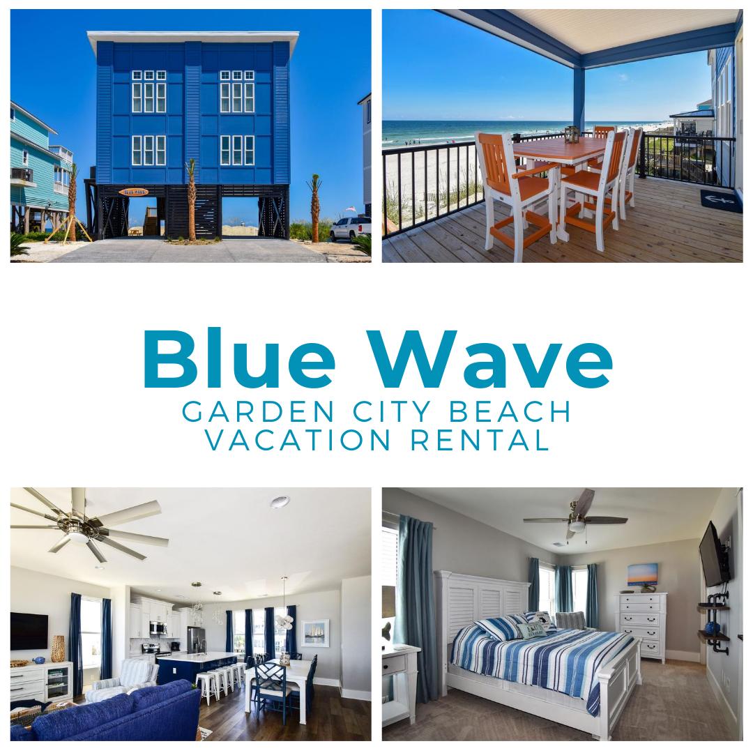 Blue Wave in 2020 Garden city, Blue waves, Garden city beach