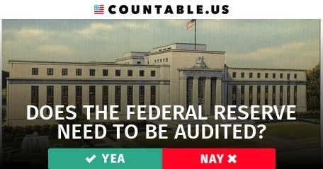 Does the Federal Reserve Need to be Audited? #Banking #Business #Economy #Loans #Jobs #HousingandCommunityDevelopment #Government #FinancialMarkets #FederalAgencies #PrivateSector #Transparency #politics #countable