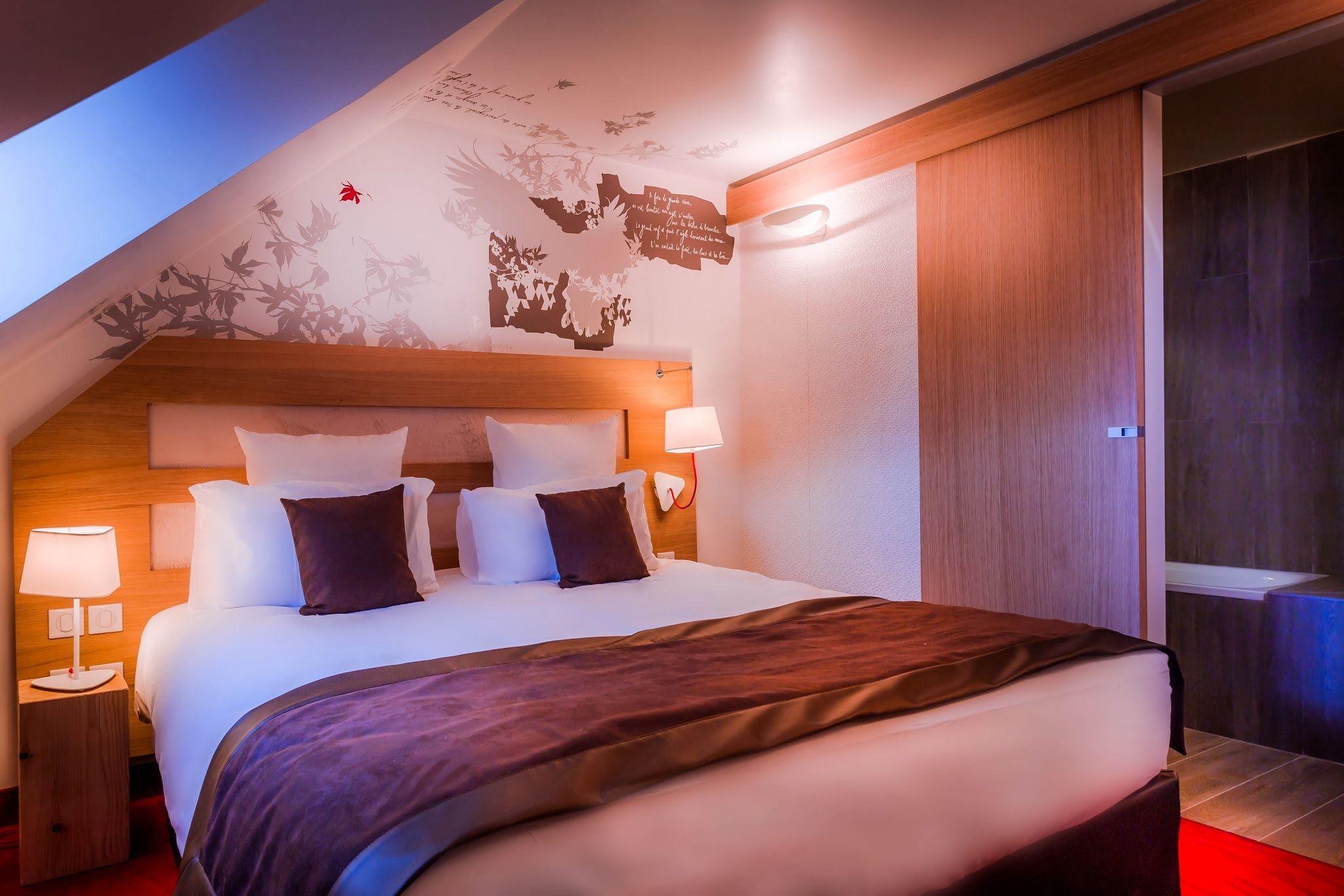 Le Grand Aigle Hôtel & Spa **** (Maranatha Hotels), Chambre double ...