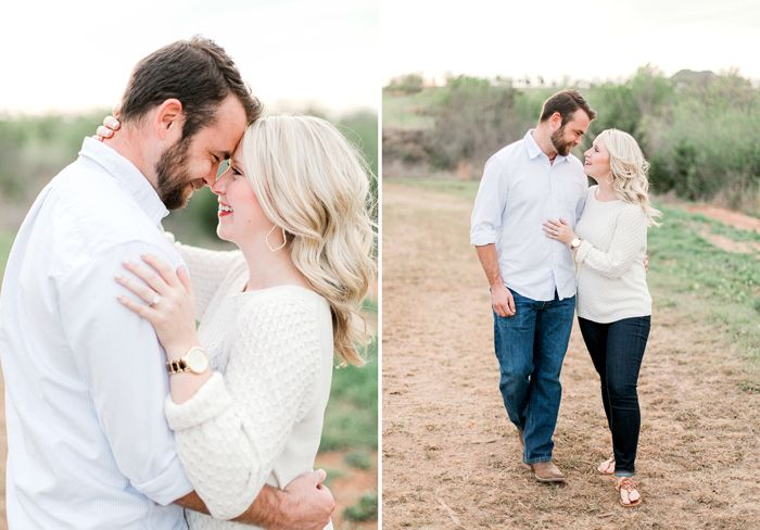 Brittani & Ricky: Oklahoma Engagement Photographer
