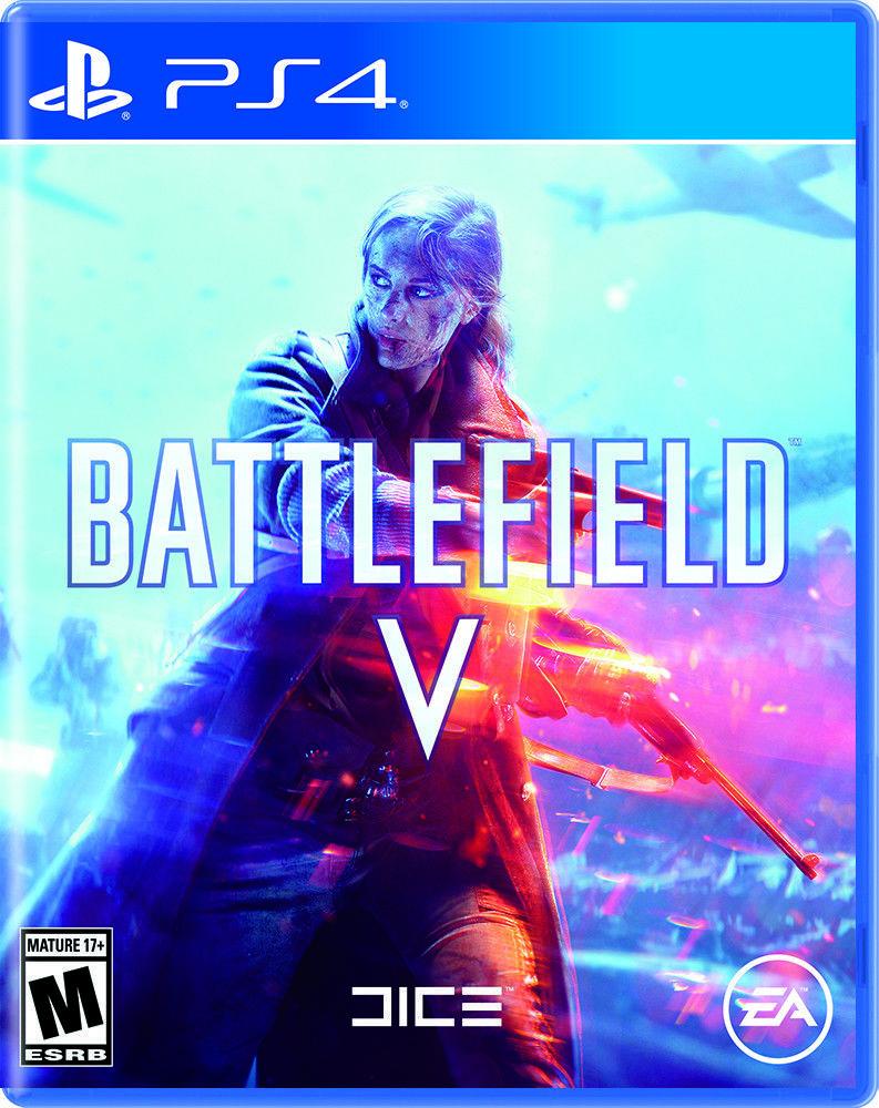 Battlefield V Electronic Arts Playstation 4 New 014633372458