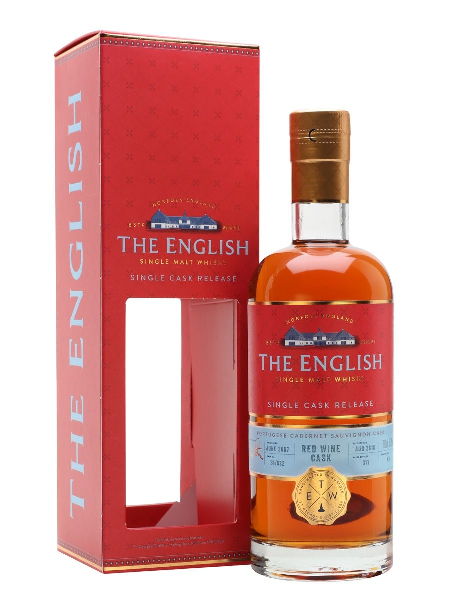 English Whisky Co Portuguese Cabernet Sauvignon Single Cask England Cigars And Whiskey Brandy Bottle Whisky Bottle
