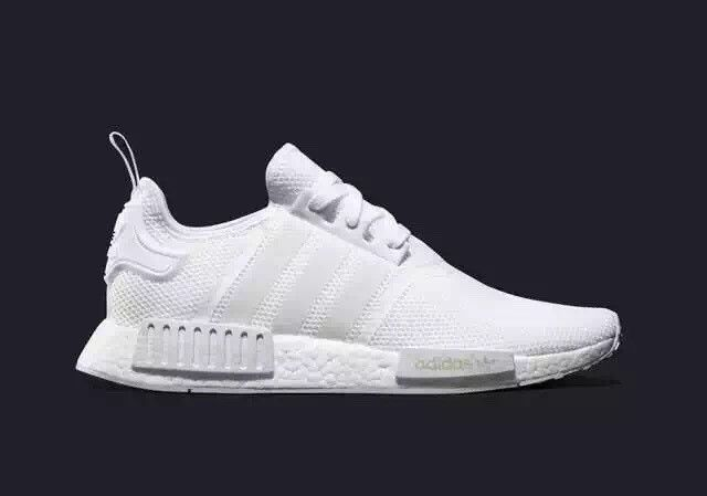 5db159545 Adidas originals NMD R1 Men - Triple White Monochrome Mesh Boost ...